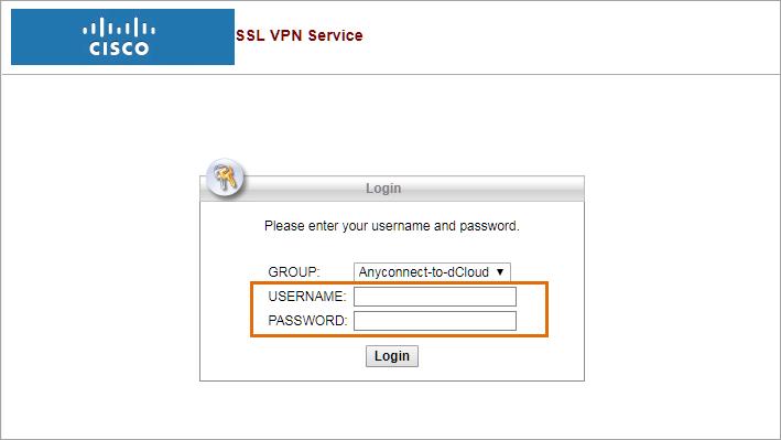 SSL-VPN-login