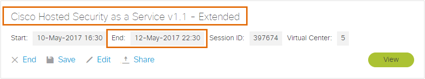 Extended Session