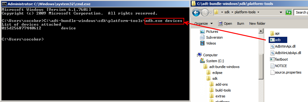 Finding ADB Devices