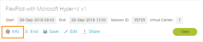 Session Info
