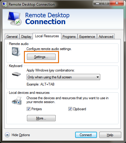 Using Local RDP Client on Windows and Mac Laptop | Help
