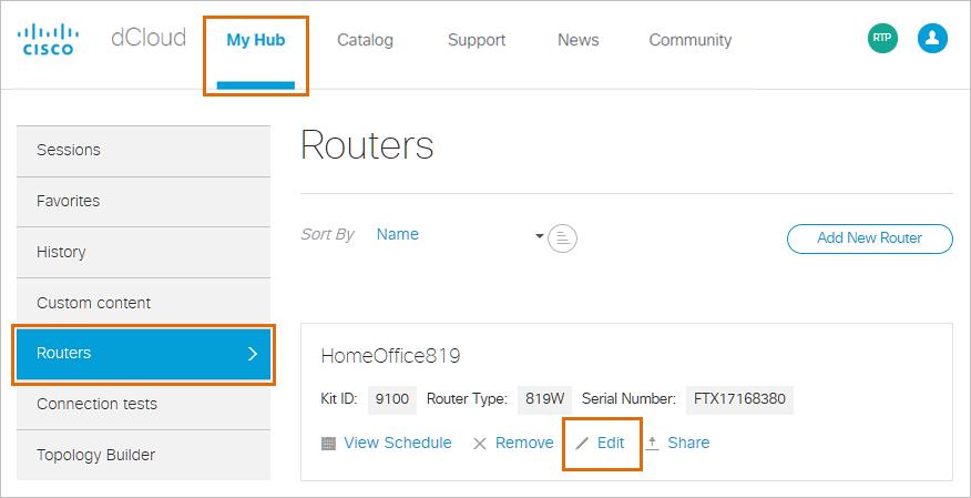 Cisco 819W Router Setup Guide for Cisco dCloud Using Windows